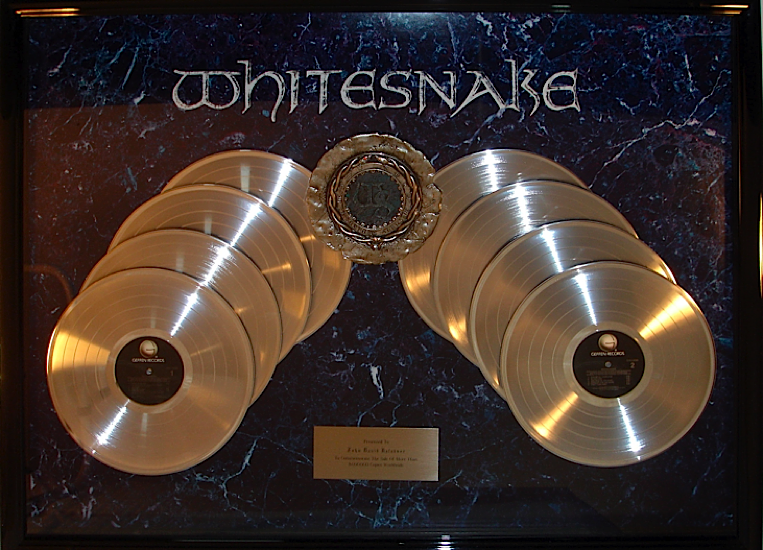 Whitesnake - 8 Million Sold