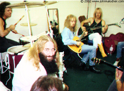 JDK with Aerosmith - Rehearsal - 1989