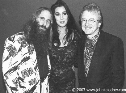 JDK, Cher & Peter Asher -1989