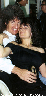 Kevin Cronin (REO Speedwagon) & his wife Lisa - 1989
