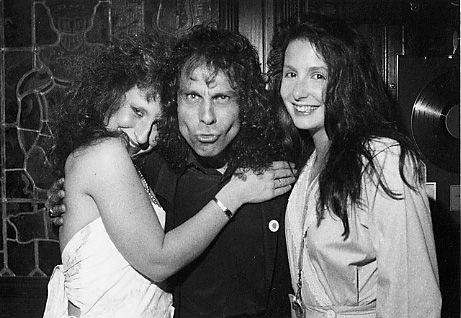 Miss Phyllis, Ronnie James Dio & Angela Medford - Dallas, TX - 1984