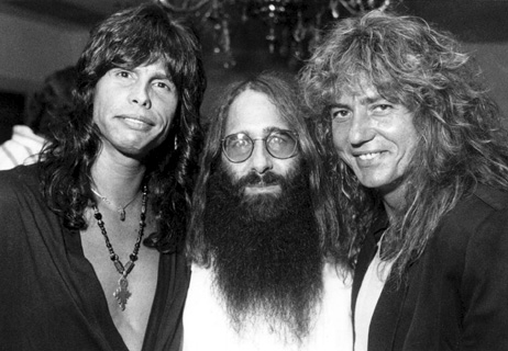 Steven Tyler (Aerosmith), JDK & David Coverdale (Whitesnake) - Dallas, TX - Spring 1987