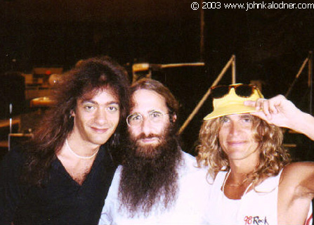 Vito Bratta (White Lion), JDK & Mike Tramp (White Lion) - 1989