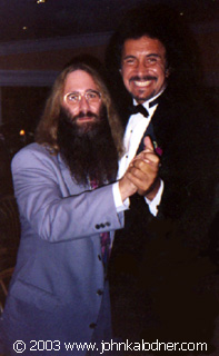JDK dancing with Gene Simmons (KISS) - 1990