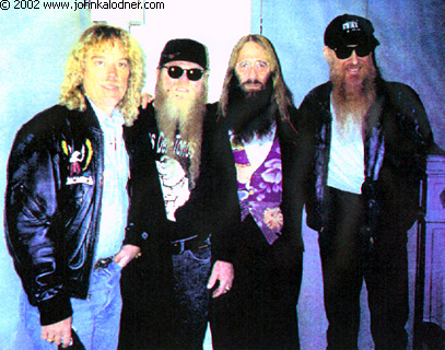 JDK with ZZ Top - 1992