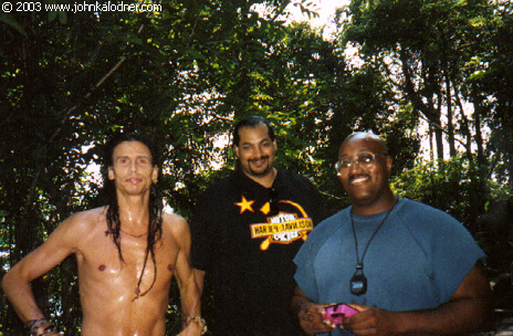 Steven Tyler (Aerosmith) & Security Guards Andre Augustine & Mike Henry - Early 1990s