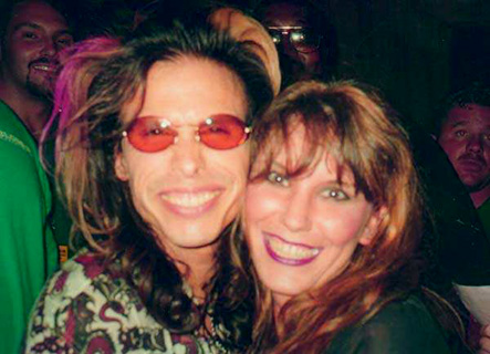 Steven Tyler & Miss Storm - Cleveland, OH - August 1997