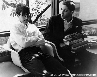 JDK (BEFORE THE BEARD!!!) & David Silver in High School - May 1966