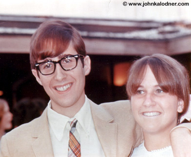 JDK & his sister Ellen - Rosemont, PA - June 1966
