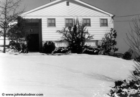 JDKs home in the 1960s - Gladwyne, PA - Winter 1967