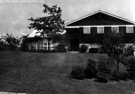 The house JDK grew up in - Gladwyne, PA - 1965