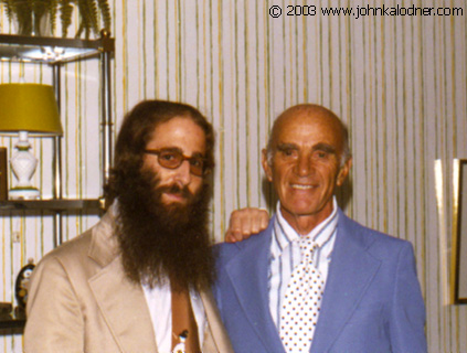 JDK & his Grandfather Charles Feinberg - Ventnor, NJ - 1977