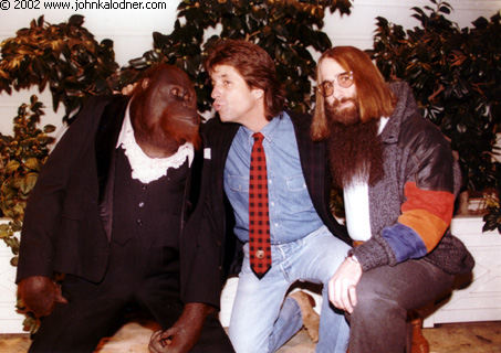 Clyde, Jon Peters (Producer) & JDK - Beverly Hills, CA - Christmas 1986