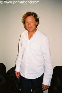 Carl Stubner (Manager & Co-President of Sanctuary North America - NYC - October  2003