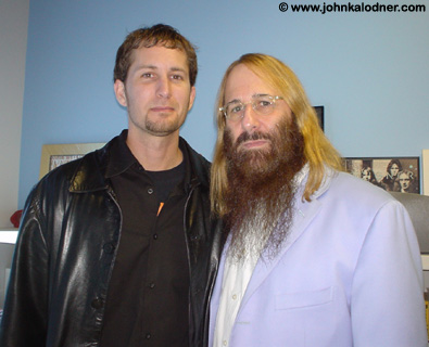 Corey Brennan (Senior V.P. of Marketing, General Manager of Sanctuary Records & Slipnots Manager) & JDK @ Sanctuary Records - Los Angeles, CA - February 2005