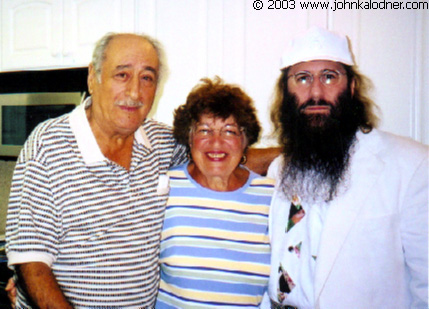 JDK with Mr. & Mrs. DeMaio (Joey DeMaios parents) at their home in Florida - February 2003
