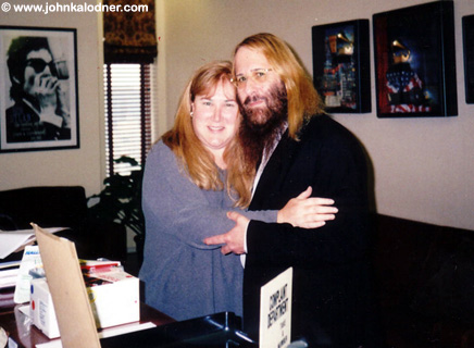 Deborah Rosenstock & JDK in Michelle Anthonys Office @ the Sony-BMG Music Building - NYC - September 2005