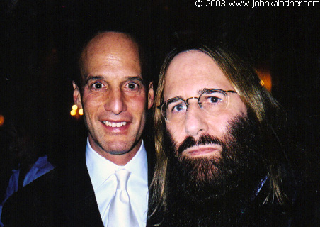 Fred Davis (HUGE Music Business/Entertainment Lawyer AND Clive Davis Son) & JDK @ the Rock N Roll Hall Of Fame Induction Ceremony - NYC - March 10th, 2003
