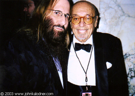JDK & the ONE and ONLY Ahmet Ertegun @ the Rock N Roll Hall Of Fame Induction Ceremony - NYC - March 10th, 2003