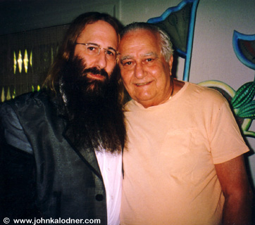 JDK & his father Dr. Alfred Kalodner - West Palm Beach, FL - August 2003