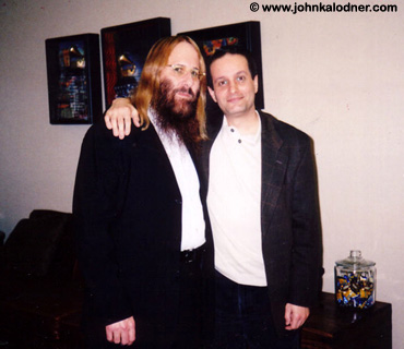 JDK & Dan Chiacchietta in Michelle Anthonys Office @ the Sony-BMG Music Building - NYC - September 2005