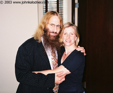 JDK & Denise Brown (Executive Assistant to Will Botwin @ Columbia Records) - July 2003