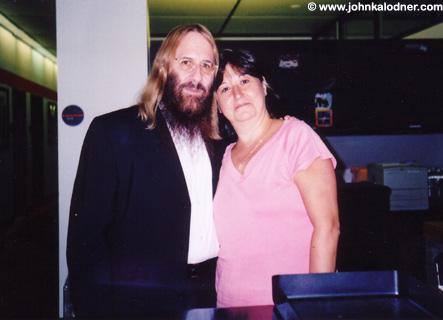 JDK & Denise Gatto (Sr. Vice President of Production @ Columbia Records) - NYC - September 2005