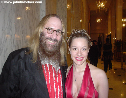 JDK (SMILING!!) & Diane Burk (JDKs Assistant) @ the BMI Awards - Los Angeles, CA - May 2005