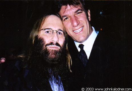 JDK & Don Ienner (Chairman of Columbia Records Group) @ the Rock N Roll Hall Of Fame Induction Ceremony - NYC - March 10th, 2003