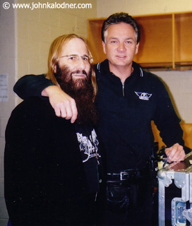 JDK & Donny Wightman (Aerosmith Chief of Security) - Philadelphia, PA  - April 2004