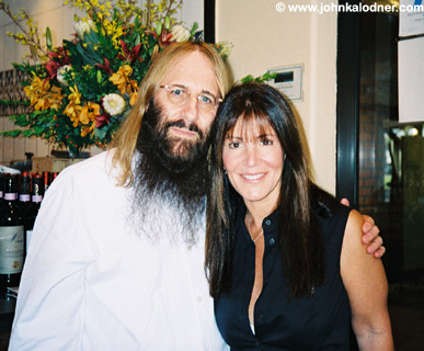 JDK & Shelli Azoff (as photographed by Jane Semel) - Brentwood, CA - August 2004