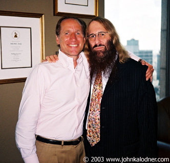 John Doelp (Senior VP of A&R @ Columbia Records) & JDK - July 2003