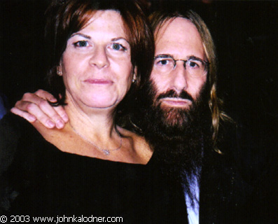 Kathy Schenker (Stings Manager) & JDK @ the Rock N Roll Hall Of Fame Induction Ceremony - NYC - March 10th, 2003