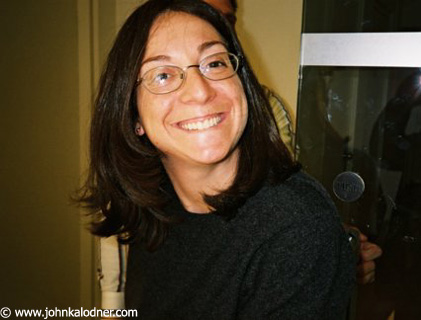 Katy Krassner (Publicist) @ the Sanctuary Office - October  2003