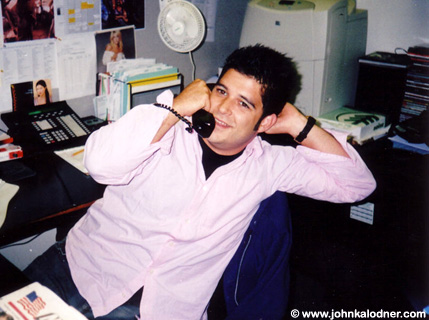Mat Vlasic (Assistant to Adam Granite @ Epic Records) - NYC - September 2005