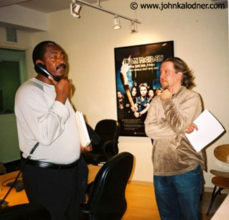 Matthew Knowles & John Boyle  @ the Sanctuary Office - NYC - October  2003