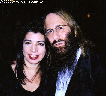 Michele Anthony (Executive V.P. of Sony Music Entertainment) & JDK @ the Rock N Roll Hall Of Fame Induction Ceremony - NYC - March 10th, 2003