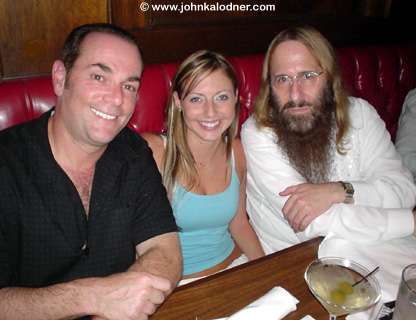 Rick Sales, Jessica Williams & JDK @ the Cookies Is Toast Party - Los Angeles, CA - July 23, 2004
