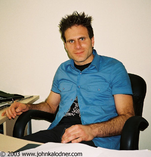 Rob Spampinato (Head of Human Resources for Sanctuary Records) - July 2003