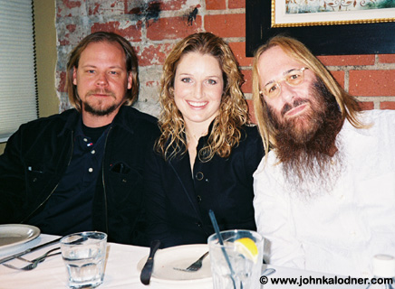 Rod S. Kukla, Monica Cornia & JDK @ JDKs annual year end lunch - Los Angeles, CA - December 30, 2005