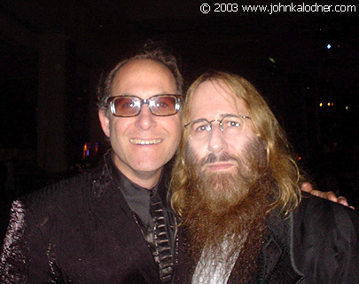 Ron Fair (President of A & M Records) & JDK at the BMI Pop Awards - Los Angeles, CA - May 13th, 2003