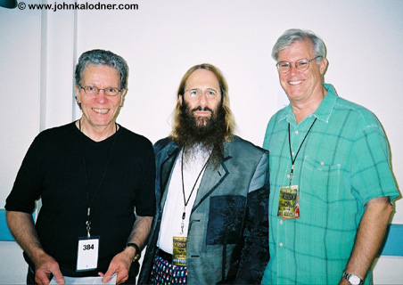Sid Payne, JDK & George Packer (Styxs Tour Manager) - Philadelphia, PA - June 2004