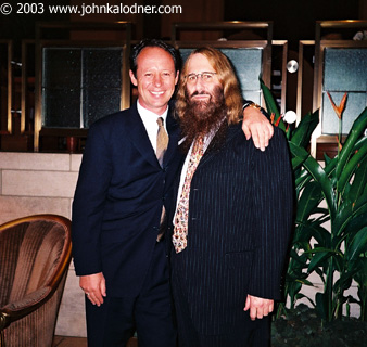 THE GREAT Thomas Steinhauer (General Manager of The Four Seasons Hotel) & JDK - NYC - July 2003