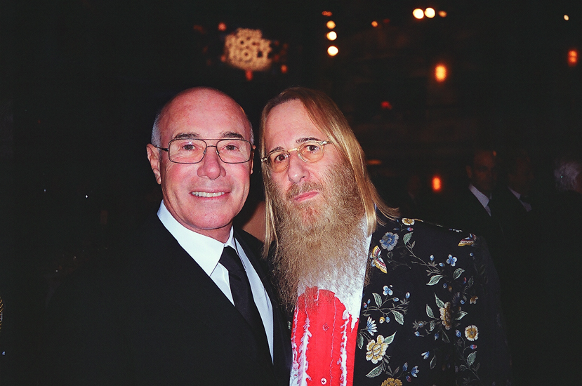 JDK and his mentor David Geffen @ Geffen's Rock & Roll Hall of Fame Induction, NY - March 15, 2010