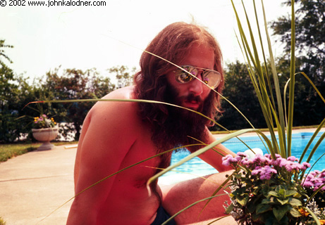 JDK (at his Parents' pool) - Philadelphia, PA - Summer 1976