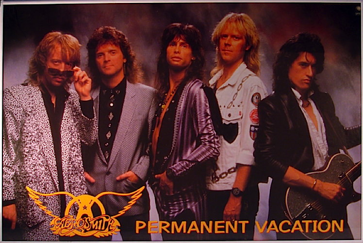Aerosmith - Permanent Vacation poster
