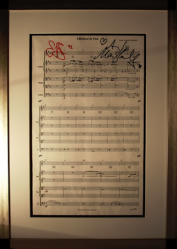 Amanda Marshall - I Believe In You sheet music