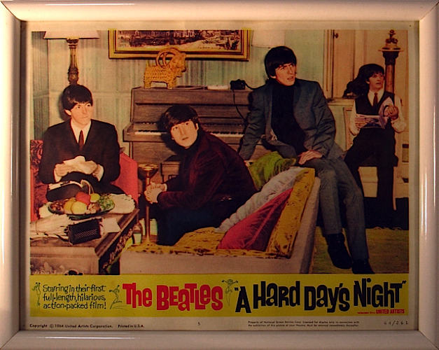 The Beatles - A Hard Days Night artwork
