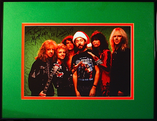 Aerosmith - Christmas photo