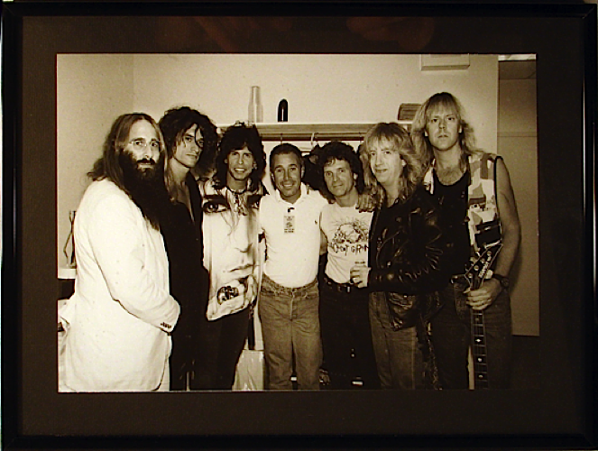 JDK, Aerosmith and David Geffen